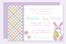 Easter Invitation Templates & More