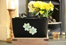 Felt handbags by Boruta Bags