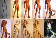clay sculpture figures