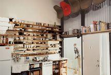 Organizing small kitchen