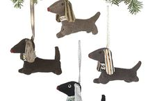Dog ornaments / by Deb Bauer