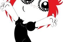 I love Ruby Gloom