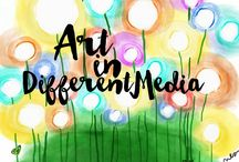 Art in Different Media / Share your own art of any subject in any medium. Simple descriptions only. Nothing spammy. For sale is fine, but it's a place to share beauty, inspiration, and especially color. Follow board, then email sproutinginsecond@gmail.com to join.