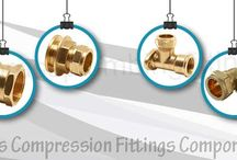 Brass Compression Fittings Components
