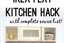 Ikea kids kitchen hack