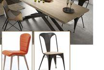 Sillas para el comedor / http://blog.miahomecorner.com/2015/08/13/tienda-de-muebles-madrid-comprar-sillas-de-comedor/
