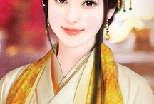 Chinese female paintings
