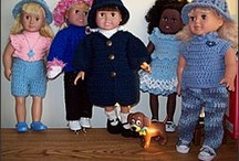 Dolls and Doll Clothes / by Cheryl Close