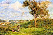 Frederick McCubbin Pintor australiano (1855-1917)