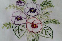 Vyšívání - embroidery / vyšívání obrázků
