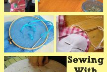 sewing with S