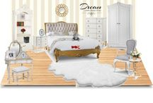 Polyvore / Check out our Polyvore for more beautiful interior scenes and get a little inspiration for your own.
