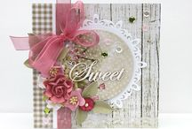 Shabby Chic handmade cards