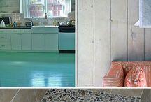 Decor - Flooring / Ideas, Inspiration, DIY, & Resources