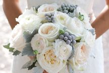 Charcoal Grey, Silver and Pale Pink Wedding