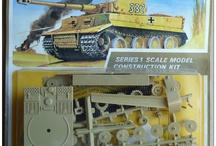 Vintage scale model kits