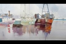 PAINTING BOATS <3