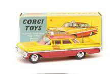 Classic Corgi Cars of the 1960s