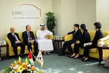 UHS meets South Korean Ministry of Health Delegation / University Hospital Sharjah meets South Korean Ministry of Health delegation to boost medical services collaboration. Read more details at http://uhs.ae/blog/university-hospital-sharjah-meets-south-korean-ministry-of-health-delegation-to-boost-medical-services-collaboration/