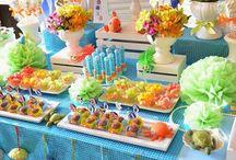 Ariel / Idéias para uma festa da Ariel para uma menina de 4 aninhos