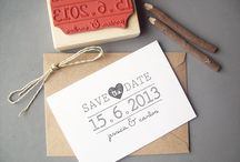 save the dates and invites