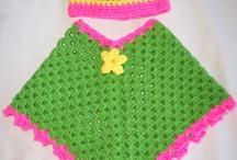 ponchos a crochet con patrones