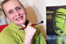 Festményeim és én / My painting and me