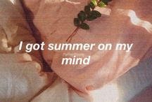 summer→ / state of mind