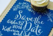 Ślub w kolorze niebieskim / blue weddings / Inspiracje w kolorze  Inspiring color blue