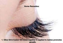 How To Get Longer Lashes .