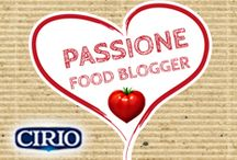 Passi♥ne Food Blogger / Ecco le ricette preparate dalle bravissime foodblogger che hanno collaborato con #Cirio. Con passione, naturalmente ♥ Here are the recipes prepared by the skilled Food Blogger collaborating with #Cirio. With passion, of course
