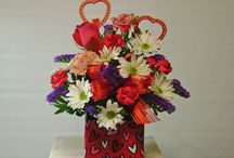 Valentine's Romance / Romantic arrangements for valentines & Anniversaries