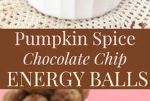 Healthy snacks/ bliss balls