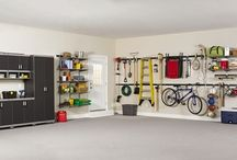 Garage Storage Solutions / New Jersey's leading garage builder offers ideas and thought provoking images of what an organized garage can actually be.