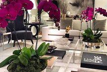Flowers  design interior