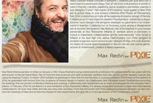 Cromoterapia, l'energia dei colori; Max Redin per Pixie progetti & prodotti. / Il colore è vibrazione energetica e influisce sul nostro corpo fisico, mentale ed emozionale, ed il colore caratterizza le opere di Max Redin dalle quali nasce questa collezione di rivestimenti_creativi©, a basso spessore, pensata come fonte di energia positiva per migliorare la nostra esistenza.