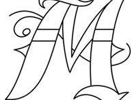 Letter Designs/Fonts
