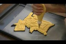 Frozen buttercream transfer