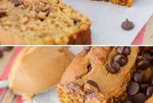 Pumpkin / Baked goods with pumpkin.