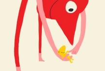 Illustration Inspiration / by Alice Wilder