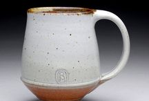 Pottery - mugs & tea cups / by Nathan Byrd