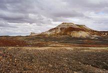 South Australia desert places / The desert scenery in central Australia