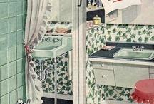 1950s bathrooms