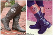 These Boots are made for walking! / All you need is a GREAT pair of boots! We'll even add a monogram for that personal touch!