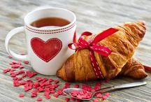 скетч завтрак