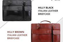 Hilly unisex briefcase