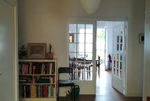 The hallway / l'entrée - seriously / pour de vrai / How it really looks / voilà le résultat