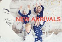 KIDS SLEEPWEAR - WINTER 2017 / Four in the Bed's Winter Range for 2017. Cotton sleepwear for kids.