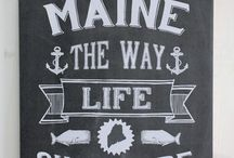 Maine Made for the Home / All things made in Maine for the home.