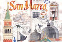 Travel journal, sketchbook